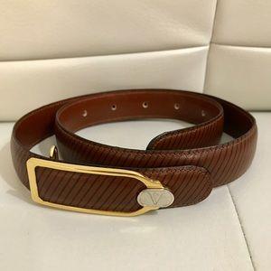 💖 Valentino Leather Belt XXS Size 65 💖